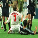 Simeone and Beckham
